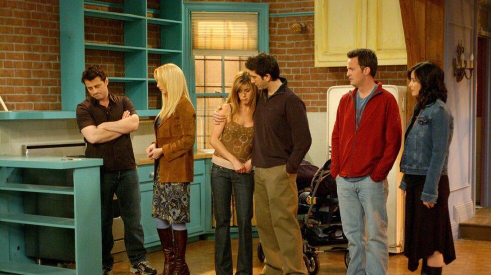 Foto del último día de rodaje de 'Friends'