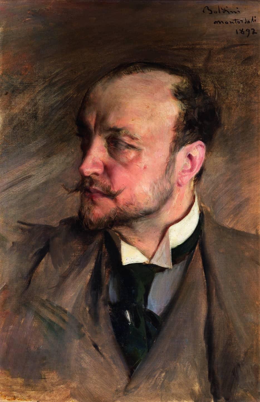 Autorretrato, 1892 Giovanni Boldini
