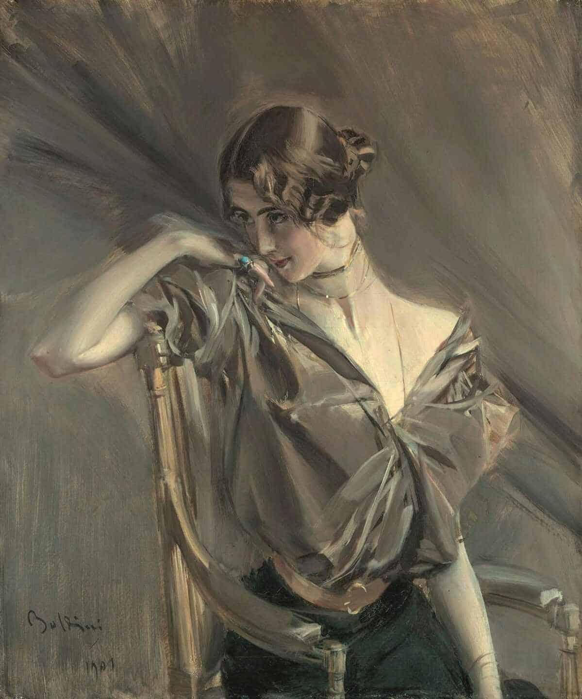 Cléo de Mérode, 1901 Boldini