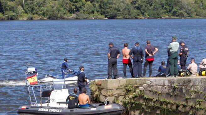 Encuentran el cuerpo del triatleta portugués desaparecido el domingo en el río Miño