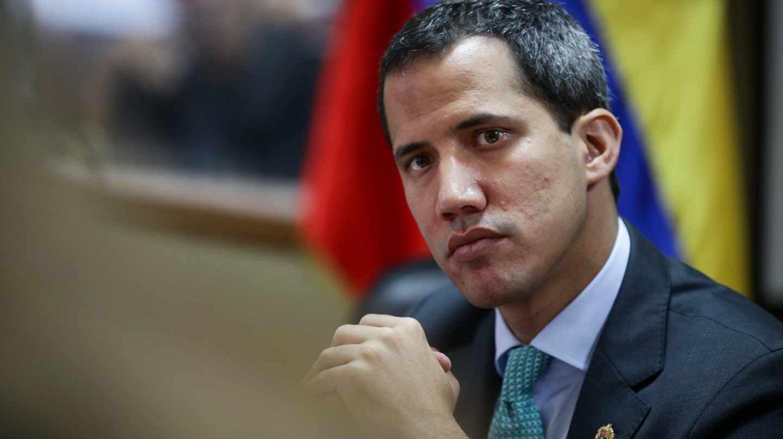 El presidente de la Asamblea Nacional (AN) de Venezuela, Juan Guaidó.
