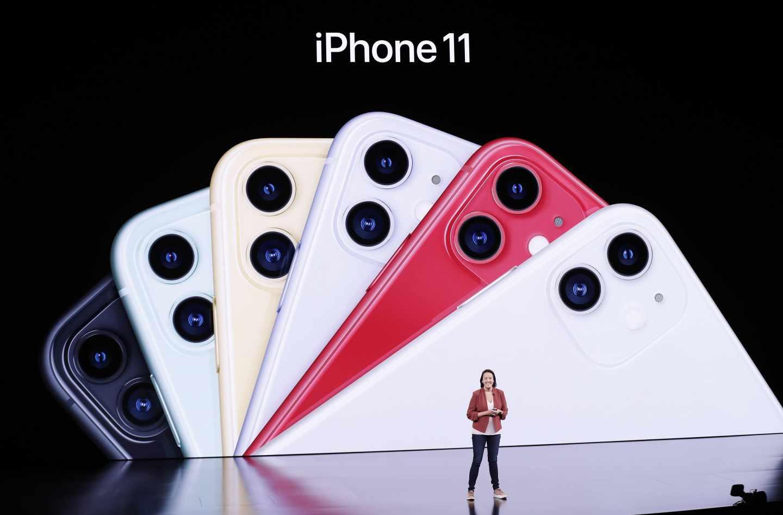 Presentación del iPhone 11.