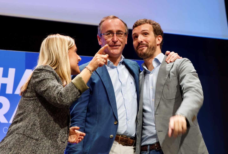 """Alonso pide a Casado a pocos meses de las elecciones vascas un PP sin """"chillidos"""" ni """"trincheras"""""""
