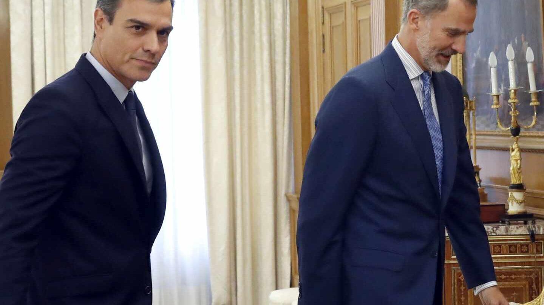 Pedro Sánchez vuelve a las consultas con el Rey sin apoyos a su investidura