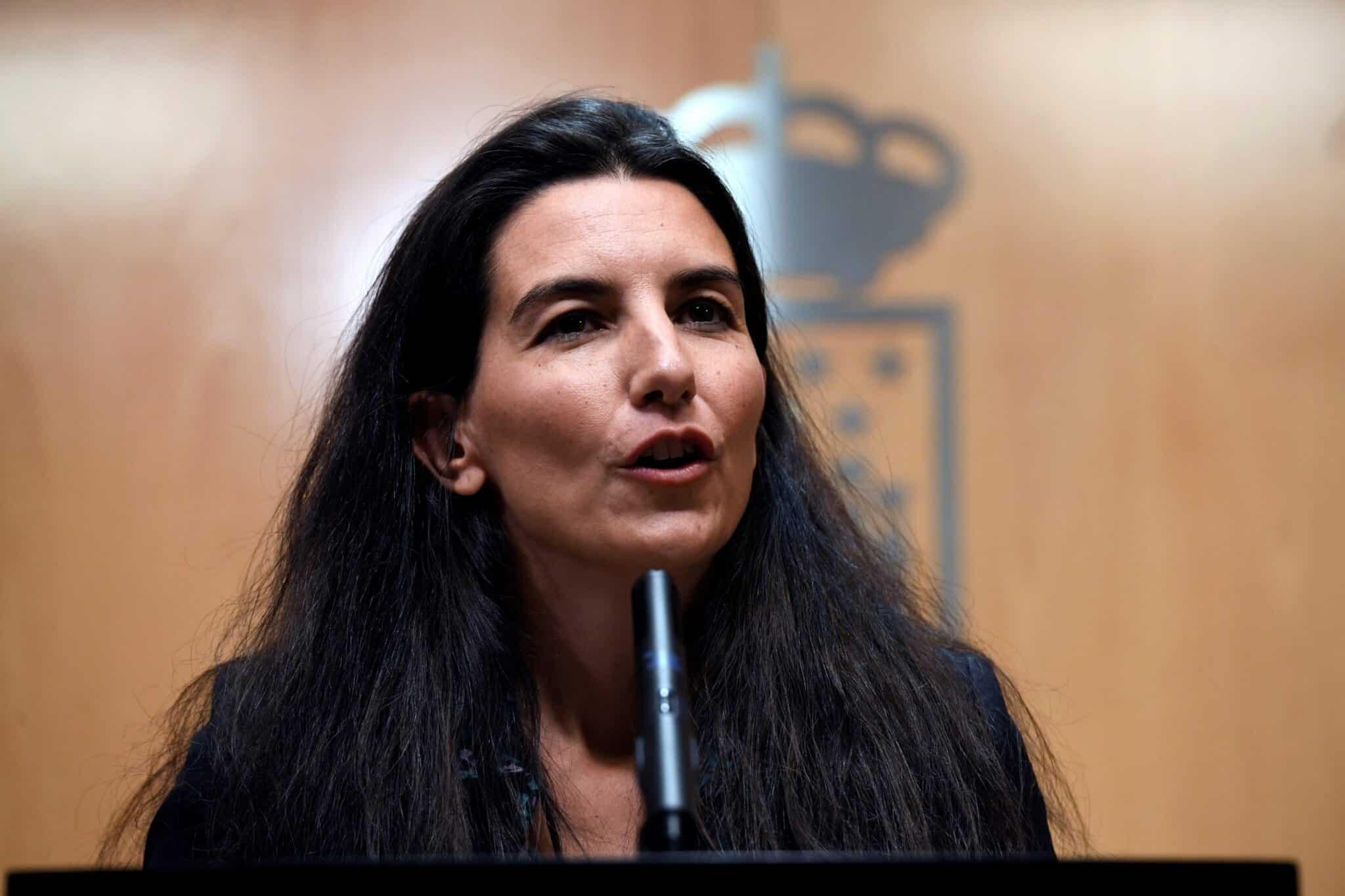 """Monasterio estaría""""encantada"""" de seguir liderando Vox en Madrid aunque considera que es un partido """"difícil de manejar"""""""