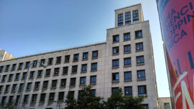 Edificio que albergará la futura sede de la AESA, en La Castellana.
