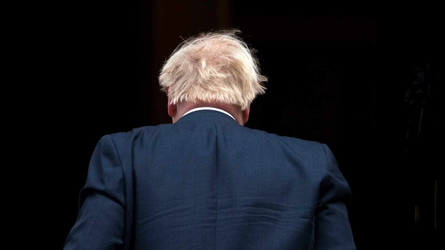 Boris Johnson en Londres