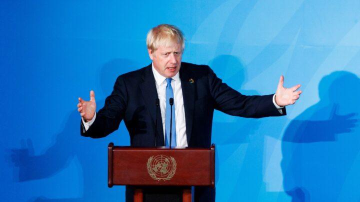 Boris Johnson en Naciones Unidas