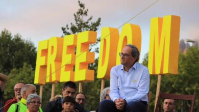 Las promesas incumplidas de Torra: referéndum, restitución y constitución catalana