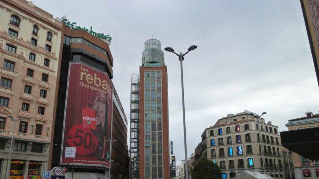FNAC en la plaza de Callao de Madrid.