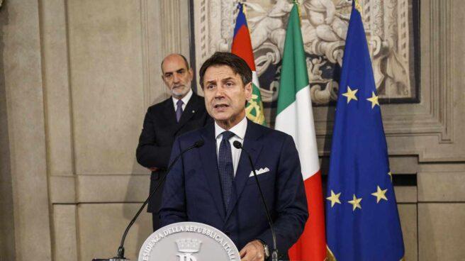 Giuseppe Conte, de nuevo primer ministro, ahora a cargo de un gabinete del PD y 5 Estrellas.