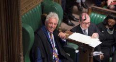 John Bercow, el 'speaker'más carismático del Parlamento británico, durante la sesión del lunes.