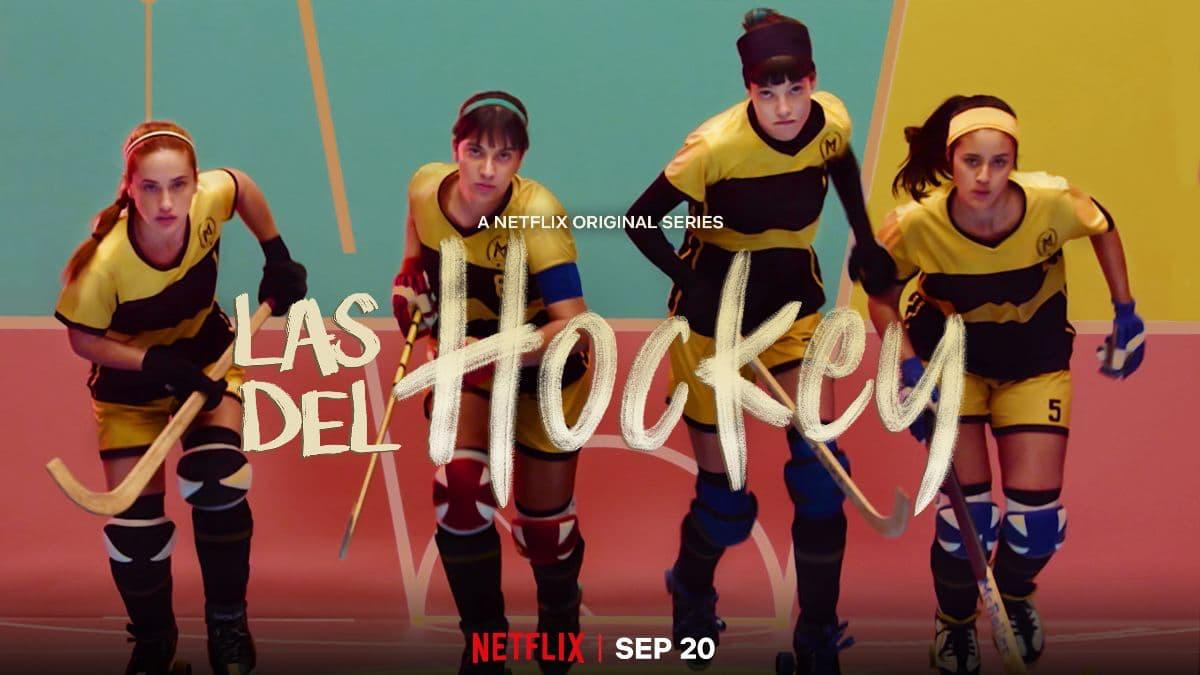 Cartel de Las del hockey