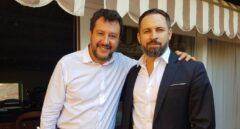 Abascal se reunirá en Roma con Salvini, Orbán y la sobrina de Le Pen