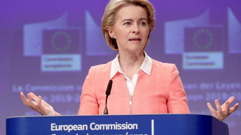 La alemana Ursula von der Leyen presenta a sus candidatos para formar parte de la Comisión Europea.