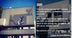 Comunicado del Pompidou.