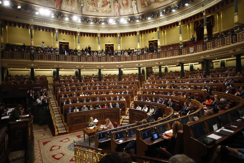 El hemiciclo del Congreso de los Diputados, el día que echó a arrancar la legislatura que ahora acaba (21 de mayo).