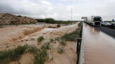 Un hombre en Orihuela (Alicante), la sexta víctima mortal que se cobra el temporal
