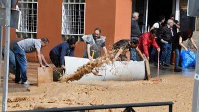 Arganda del Rey, de nuevo afectada por las riadas provocadas por las fuertes lluvias
