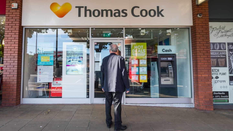 Lo que va de Kodak a Thomas Cook: ¿por qué ha caído el gigante de los viajes?