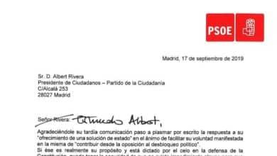 """El """"abrazo"""" de Sánchez al """"estimado Albert"""" en una carta llena de reproches"""