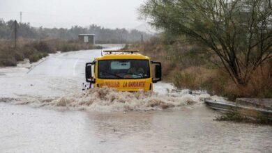 """Murcia critica las ayudas del Gobierno para la gota fría: """"Solo hace frente al 50 % de daños"""""""