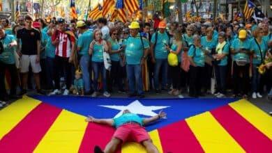 El apoyo a la independencia en Cataluña ya está 9,5 puntos por debajo de la continuidad en España