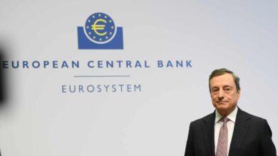 Draghi garantiza un apoyo 'infinito' ante la creciente debilidad de la economía europea