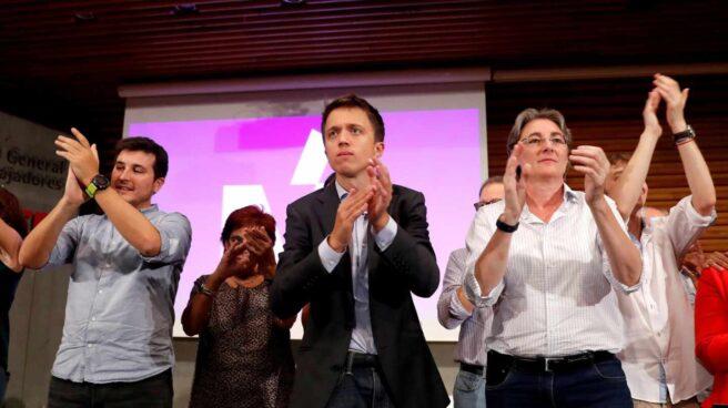 Íñigo Errejón, en la presentación de Más País.