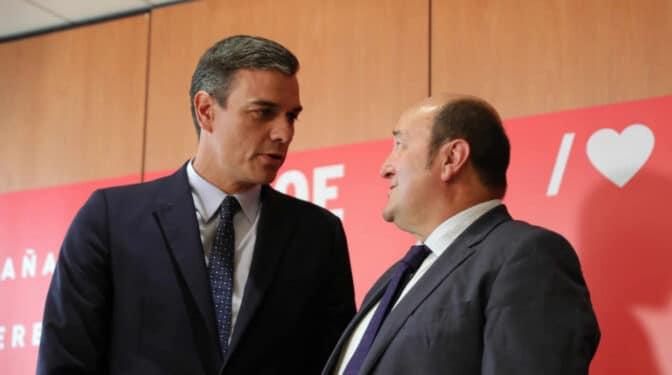 """Ortuzar recuerda a Sánchez que antes de los presupuestos """"debe darnos lo que nos debe"""""""