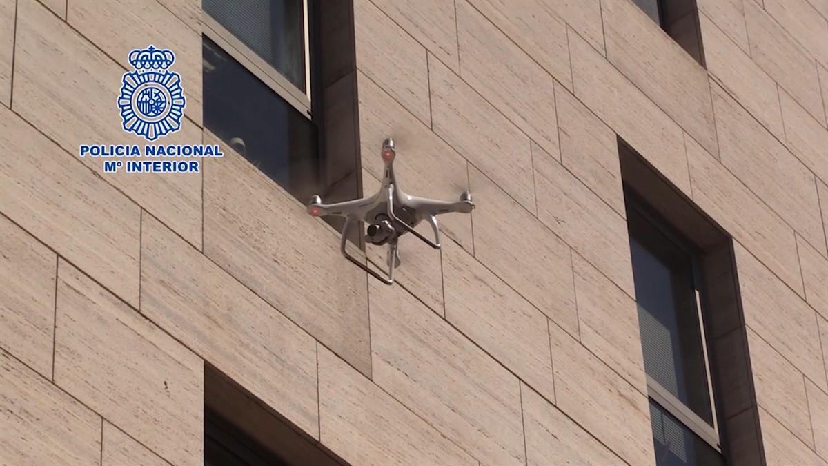 Drones de la Policía Nacional
