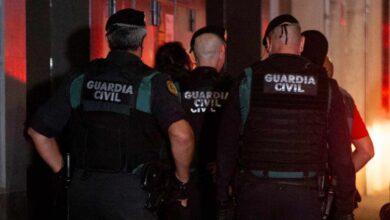 """Pintan la fachada de un guardia civil en Barcelona: """"Nunca nos haréis españoles"""""""