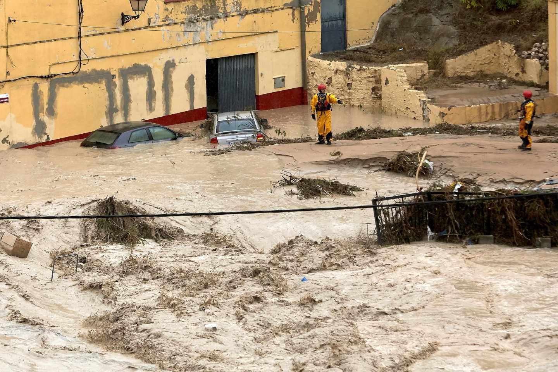 Graves inundaciones en Onteniente.