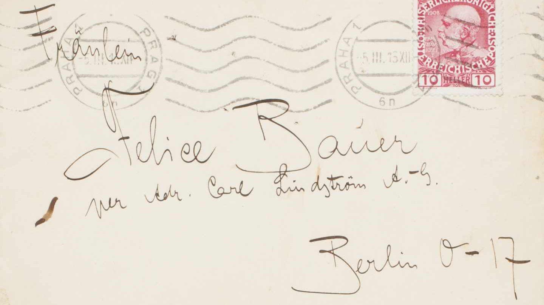 Carta de Kafka a Bauer.