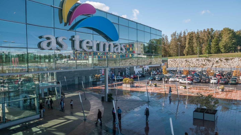 Centro comercial As Termas, en Lugo, uno de los activos de Lar España.