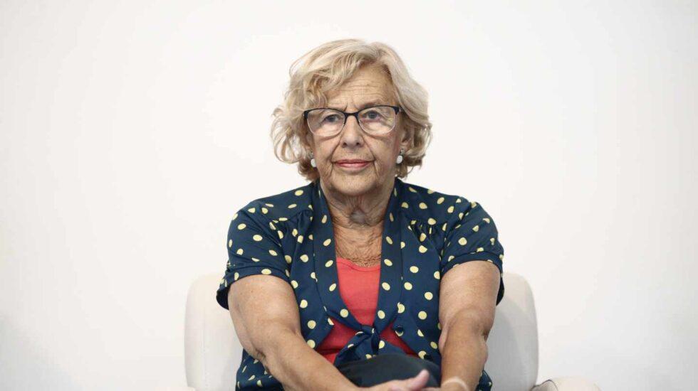Manuela Carmena, durante un acto en el mes de julio.