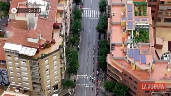 Helicóptero de la Vuelta a España descubre plantación de marihuana
