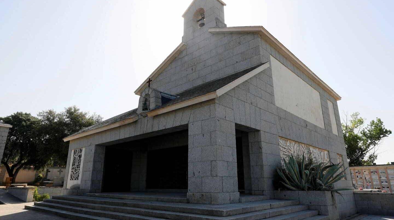Panteón de la familia Franco en el cementerio de El Pardo-Mingorrubio, donde está enterrada la esposa del dictador.