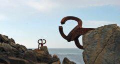 Peine del viento, en San Sebastián.
