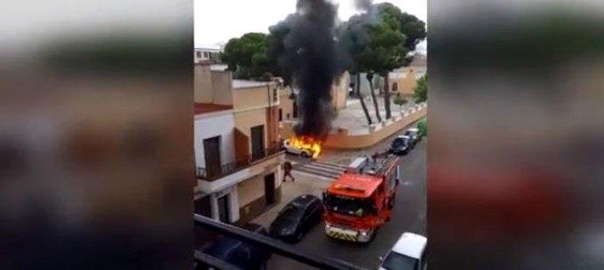 Un hombre acusado de incendio el coche de su expareja muere atropellado horas después
