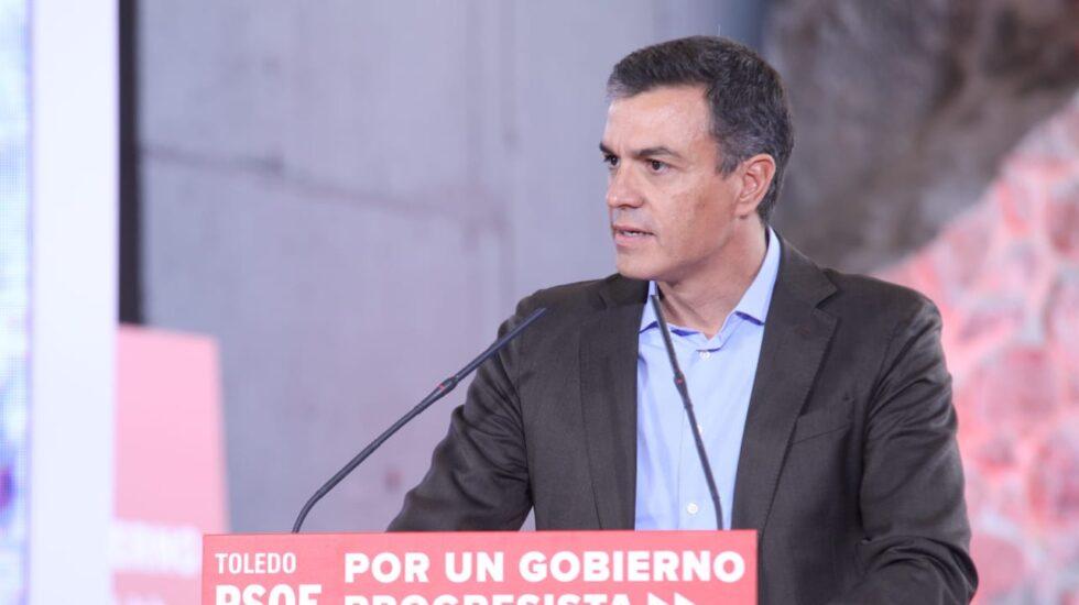 Pedro Sánchez en Toledo.