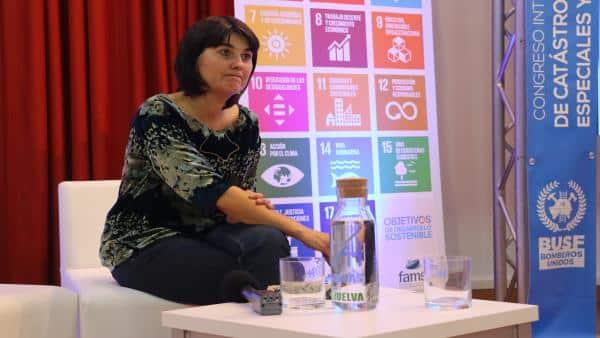 María Belón, superviviente del tsunami de Indonesia