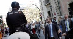 Casado este miércoles junto a Fabra por las calles de Valencia