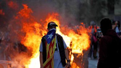 Galería: violencia en Barcelona a plena luz del día