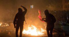 Los CDR agreden a varios periodistas de RTVE y Antena 3 que cubrían las protestas