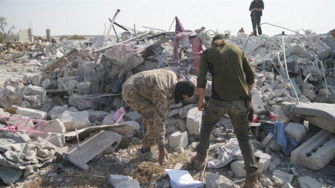 Escondite de Al Baghdadi en el noroeste de Siria