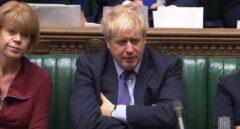 Boris Johnson en Westminster