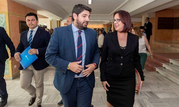 """Los díscolos de Cs justifican su cambio de postura: """"No nos eligieron para entregar Murcia a Pedro Sánchez"""""""