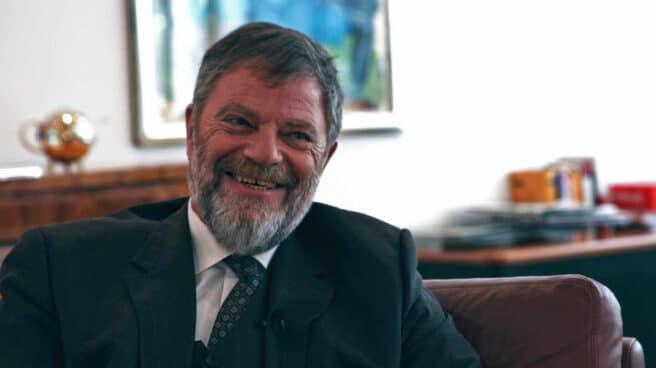 El embajador alemán en España, Wolfgang Dold, en su despacho en Madrid