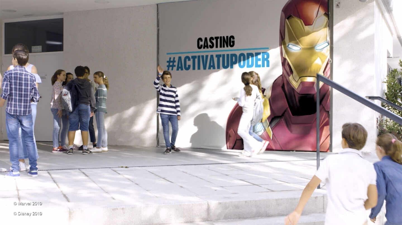 Fotograma del experimento llevado a cabo por Disney y la Fundación Mutua Madrileña